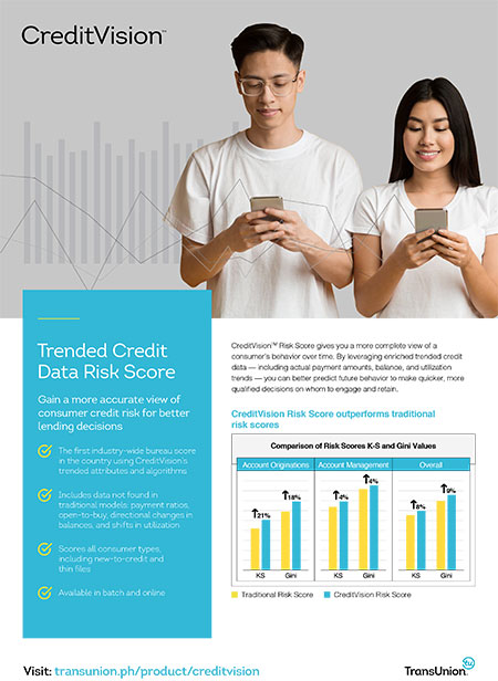 Credit Vision Risk Score Asset Sheet Thumbnail